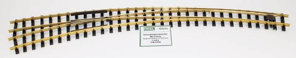 Thiel Innenbogenweiche links 38°/28° R1350/1925mm, Ms, Spur G