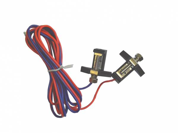 Piko 2 x G-Anschlussklemme mit Kabel Spur G