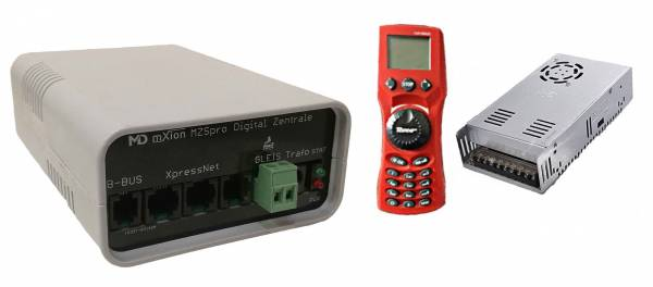MD-Electronics: Set DCC Digitalzentrale 8A MZSpro mit Netzteil, 24 V, Spur G