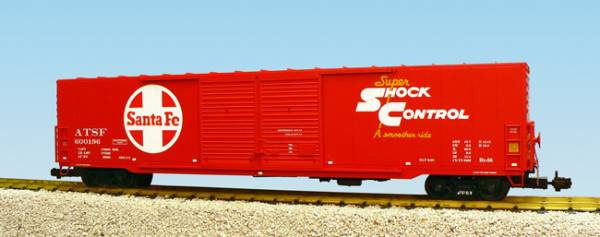 USA-Trains Santa Fe Double Door - Red ,Spur G