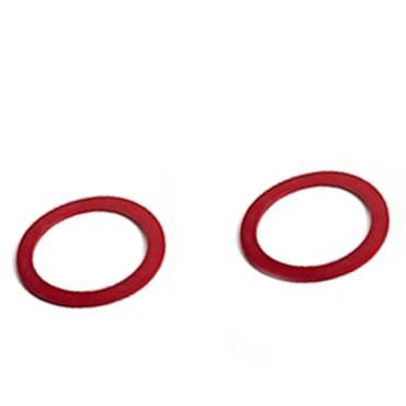 Massoth 2 Haftreifen, rot, für LGB Loks Rad 46,5mm, Spur G