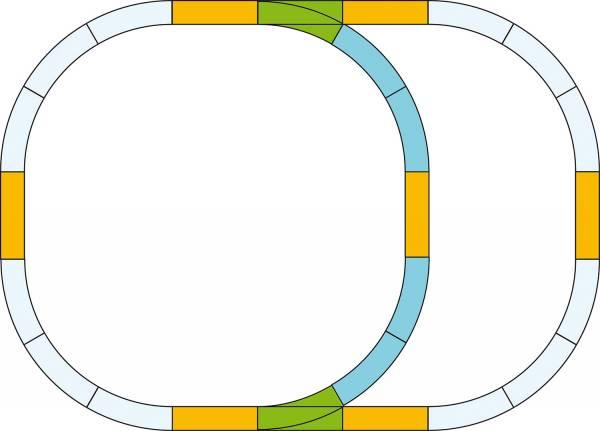 Piko G-Gleis-Set Überholgleis Spur G