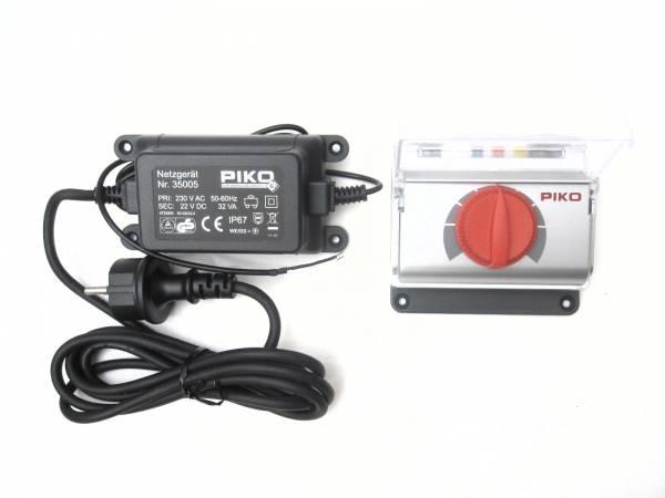 Piko Fahrregler 0-22 V DC + Netzteil 32 VA, Spur G, für LGB