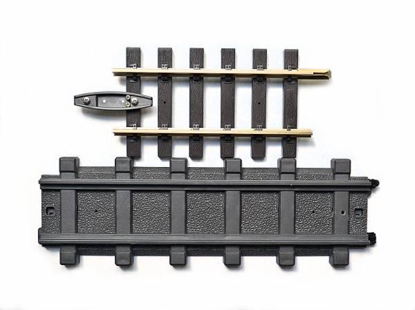 Zenner Apdatergleis auf Playmobil, Spur G
