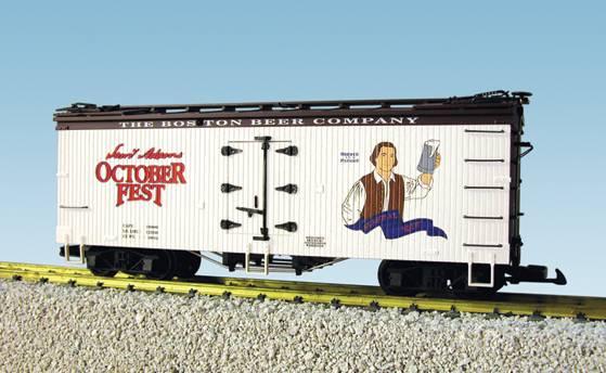 USA-Trains Samuel Adams - White/Brown ,Spur G