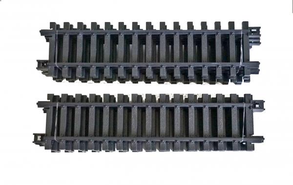 NewRay 10 gerade Gleise aus Kunststoff Länge 300 mm. Anpassungsfähig an Train Gleise
