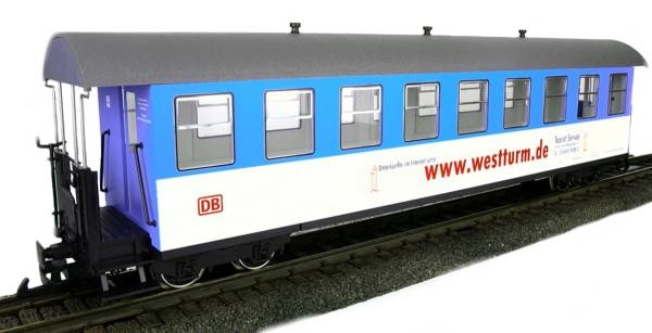 Train Line45 Personenwagen Wangerooge 3330705, 9 Fenster, Spur G Gartenbahn