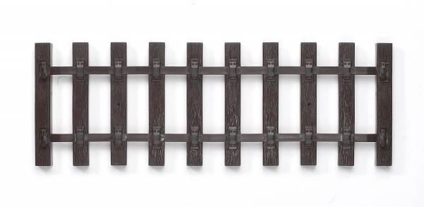Piko 6 x G-Schwellenband 280 mm VE25 Spur G, 6 Stück Schwellenbett