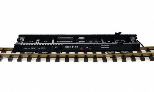 Zenner Rollwagen Spur G, für Wagen Spur II (64mm), L=350mm, Edelstahlräder