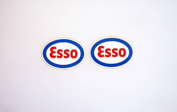 2 LGB Aufkleber ESSO 55x34mm für Spur G Kesselwagen