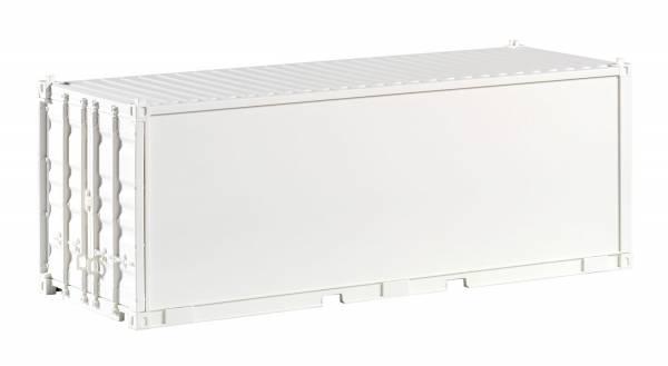 Piko G-Container 20'' weiß, unbedruckt, glatt' Spur G