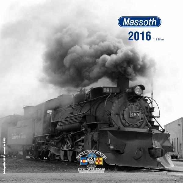 Massoth Produktkatalog 2016, letzter Komplettkatalog