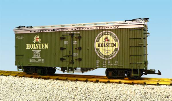 USA-Trains Holsten Bier Green/Silver,Spur G