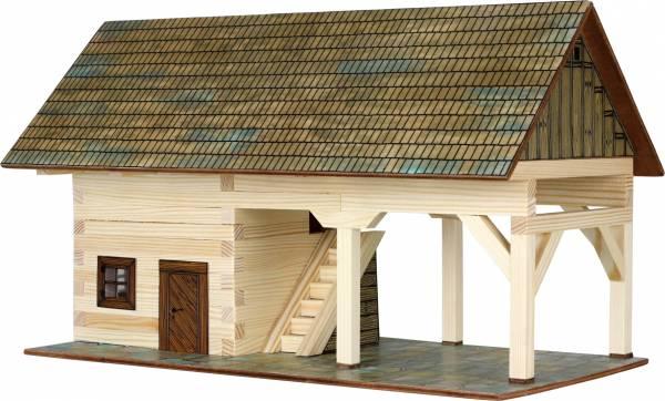 Walachia Schuppen Bausatz Nr. 17, Holzhaus für Spur 1/Spur G 1:32 Modellbau