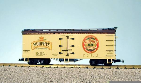 USA-Trains Murphy´s Irish Stout - Yellow/Brown ,Spur G