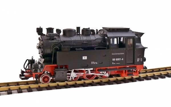Train Funk Akku Dampflok BR99,  Zusatzgewicht, 5 LGB Metall-Radsätze, Spur G Gartenbahn IIm