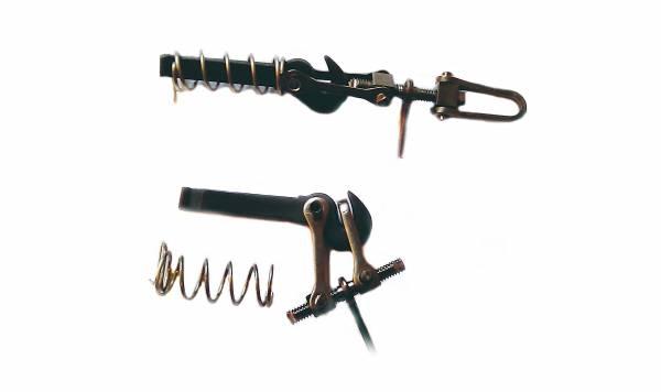2 Schraubenkupplungen klein Spur G und Spur II (64mm)