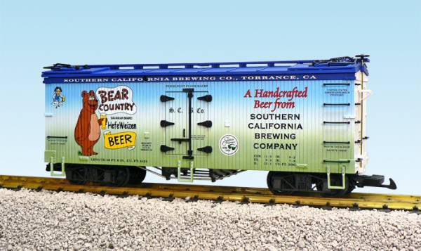 USA-Trains Bear Country Beer 3 Tone Blue/White/Green ,Spur G