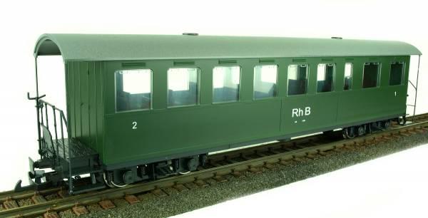 Train Line45 Personenwagen RHB, grün, Wagen 1. und 2. Klasse