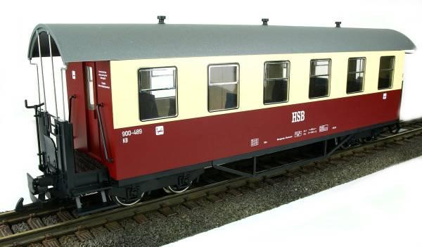 Train Line 45 Personenwagen HSB rot-beige