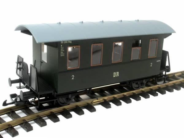 Piko Personenwagen DR, grün, Spur G