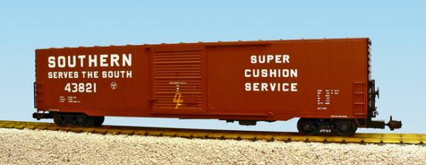 USA-Trains Southern Single Door - Frt Car Brown ,Spur G
