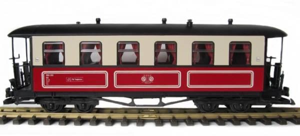 Zenner Molli Personenwagen 990303 rot beige, 6 Fenster, Spur G