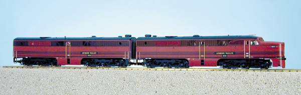 USA-Trains Lehigh Valley PA-1 & PB-1 - Cornell Red ,Spur G