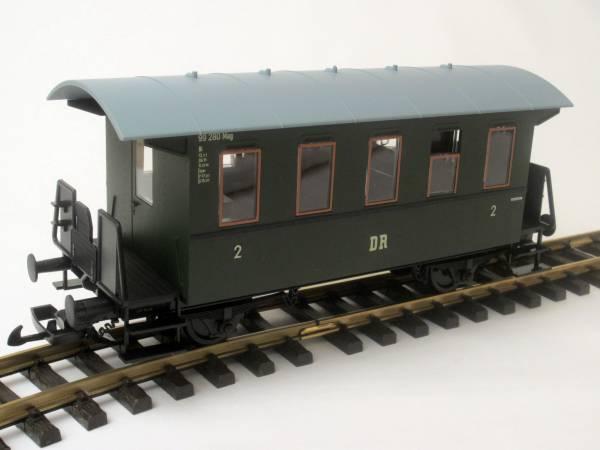 Piko Personenwagen, grün, Spur G Gartenbahn
