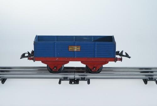 HORNBY MECCANO High-Sided Wagon Blue, O Gauge, Automatic Clutch   eBay