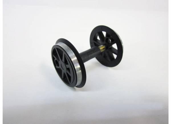 G-Radsatz (KL) schwarz für US-Lok