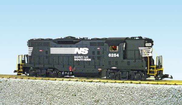 USA-Trains Norfolk Southern GP9 - Black ,Spur G