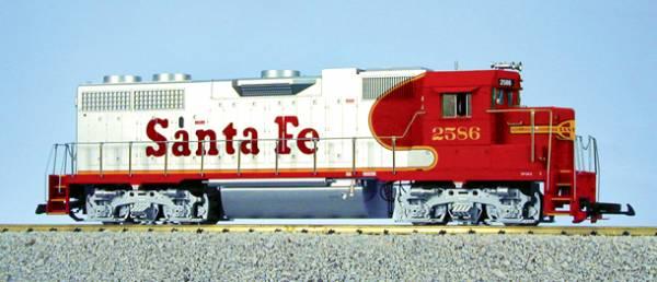 USA-Trains Santa Fe - Red/Silver ,Spur G