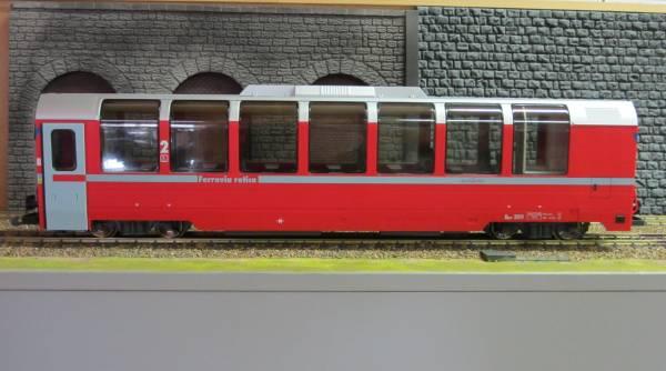 Kiss RhB Bernina-Express Panoramawagen AP 1293 neues Design Spur G