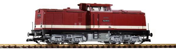 Piko G-Diesellok BR 112 DR IV, graues Fahrwerk Spur G