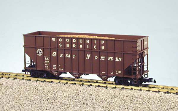 USA-Trains Great Northern - Freight Car Brown ,Spur G