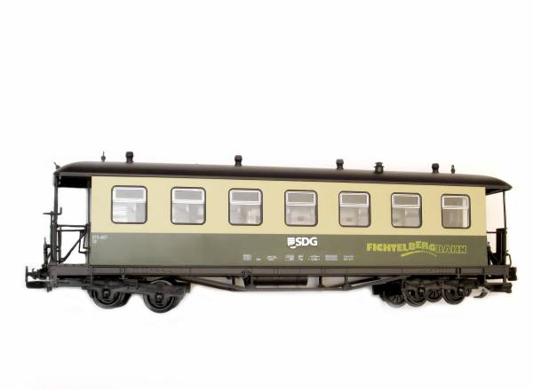 Train Personenwagen DR Fichtelberg