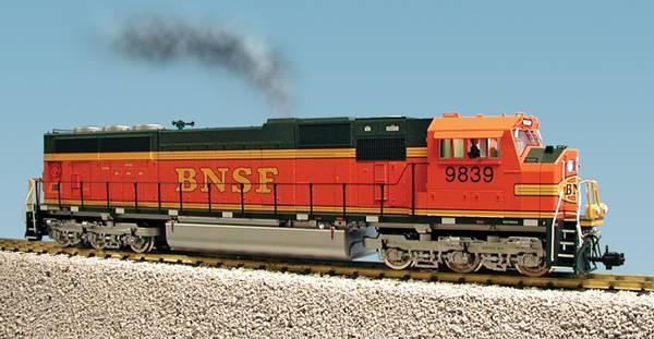 USA-Trains BNSF - Orange/Green,Spur G
