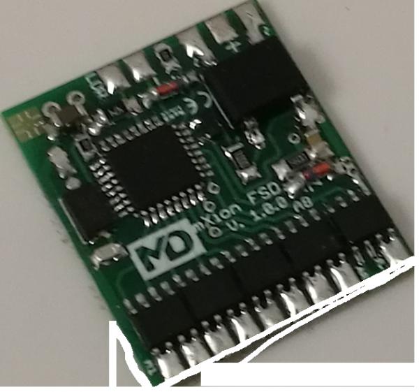 MD FSD DCC - 8 Kanal Funktionsdecoder mit Helligkeitssensor, Spur G