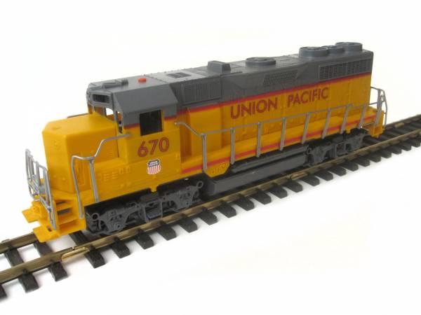 Diesellok Schiebelok Union Pacific der Spur G mit LGB kompatiblen Kupplungen zum Selbsteinbau