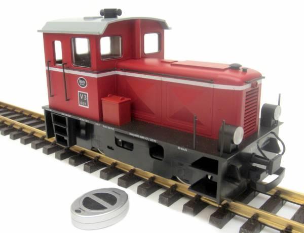 Train Line45 Diesellok Deutz V3, analog, mit Bausatz Funk Spur G