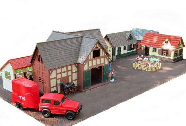 Zenner Dorf 1 80 Teile Spur G / Spur 1