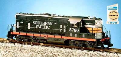 USA-Trains Southern Pacific GP9 - Black Widow ,Spur G