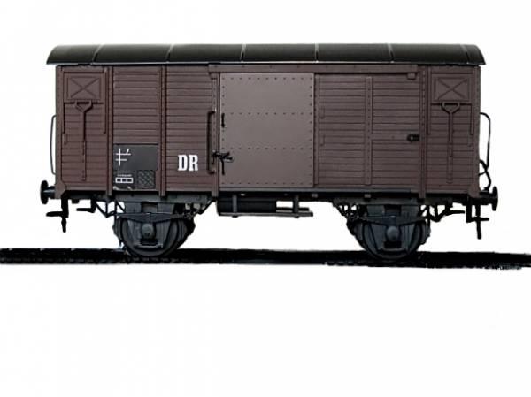 Zenner gedeckter Güterwagen Spur 2 (64 mm, 1:22,5) der DR