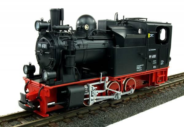 Train Line45 Dampflok HSB Pfiffi BR 99 6101, analog, gepulster Verdampfer, Spur G