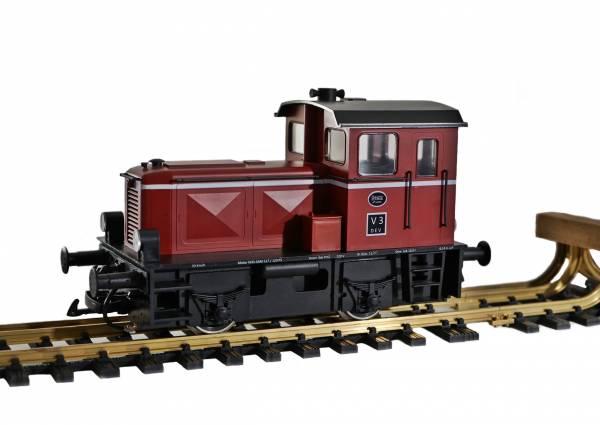 Train Line45 Deutz Lok Umbau von Spur G 45 mm auf Spur II 64 mm, digital, Spur 2