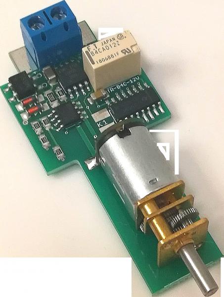 MD MWB Nachrüstkit (Getriebemotorweichenantrieb mit Decoder, Herzstückrelais, Funktionsausgang, digi