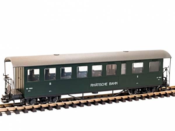 Train Line45 Personenwagen RHB BC 1505, incl Toilettenabteil, Sprengwerk, 9 Fenster