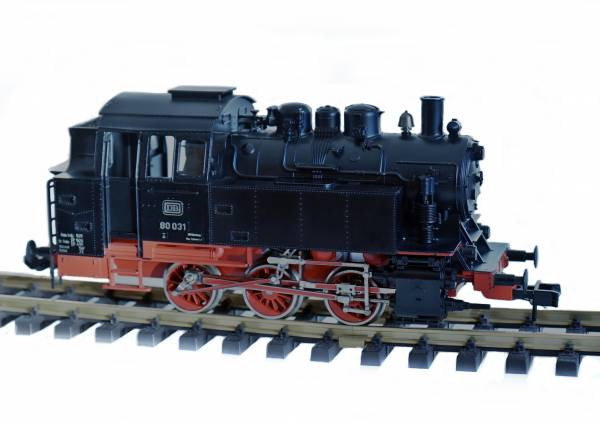 Märklin Dampf-Lokomotive BR 80, digital, DCC Decoder, Sound Spur 1, erneuert