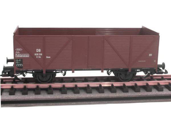 Piko offener Güterwagen Hochbordwagen DR 35-02-81 Omu, Spur G